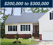 Virginia Homes  200,000 to 300,000