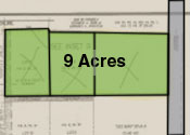 Three Parcels 9.0 Acres