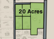 Five Parcels 20 Acres