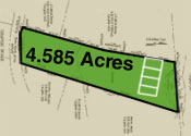 Middlesex 4.585 Acres, Four - 4 Bedroom Septic Sites, Great Property Development