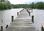 Mathews Woodas Creek 3 Acres / Pier Near Town